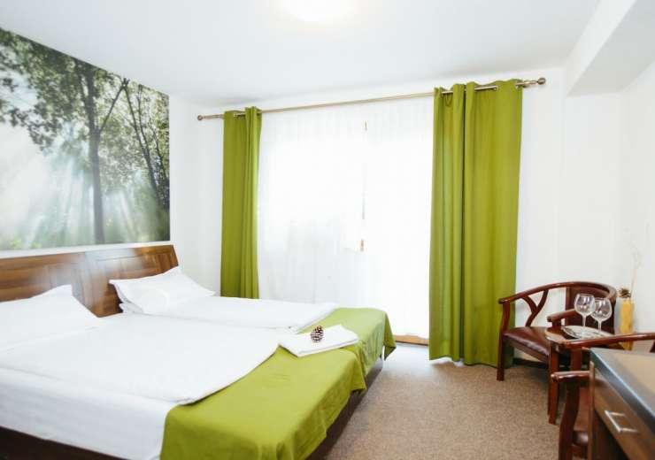 Rooms at Hotel SuperSKi were restored